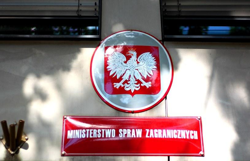 """MSZ skierowało oficjalne pismo do prezes zarządu Fundacji """"The Open Dialog Foundation"""" /Stanisław Kowalczuk /East News"""