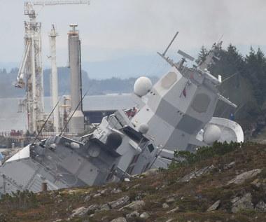 Norweska fregata tonie. Marynarka wojenna chce ją odholować do brzegu