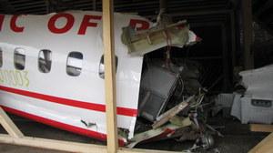 Pięć lat po katastrofie wrak prezydenckiego tupolewa wciąż jest w rękach Rosjan /Archiwum RMF FM