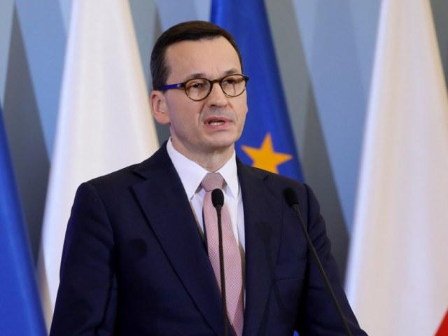 Premier Mateusz Morawiecki /Jakub Kaminski/East News /East News
