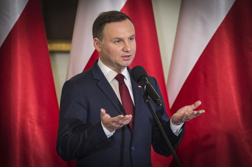Prezydent Andrzej Duda /Jacek Domiński /East News