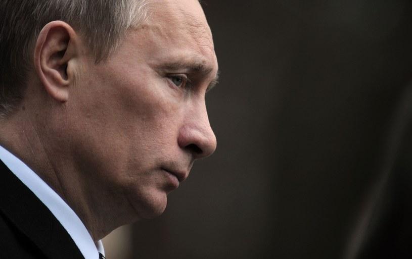 Prezydent Rosji Władimir Putin /Bartosz Krupa /East News