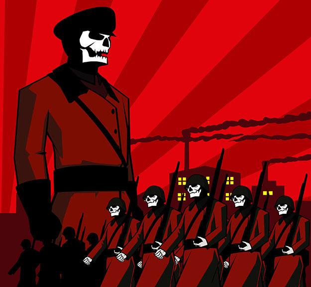 Próby wprowadzania komunistycznej ideologii w czyn pociągnęły za sobą zagładę co najmniej 100 milionów ludzi /Istockphoto /Istockphoto