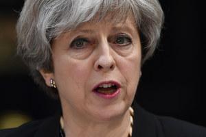 Theresa May zabrała głos po zamachu w Londynie