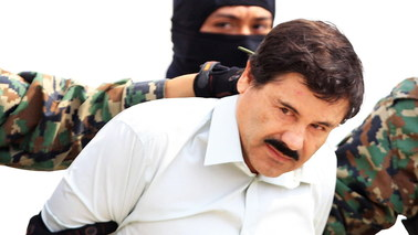 He escaped from prison, he killed enemies.  Drug lord