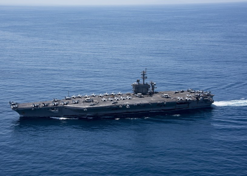 USS Carl Vinson /US DEPARTMENT OF DEFENSE /PAP/EPA