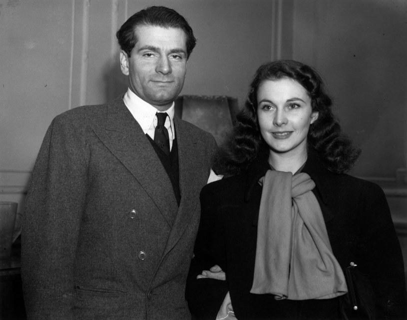 Vivien Leigh i Laurence Olivier /George W. Hales /Getty Images
