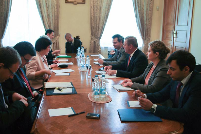 W Moskwie odbyły się polsko-rosyjskie konsultacje z udziałem podsekretarz stanu w MSZ Joanny Wroneckiej i wiceministra Giennadija Gatiłowa /Ministerstwo Spraw Zagranicznych