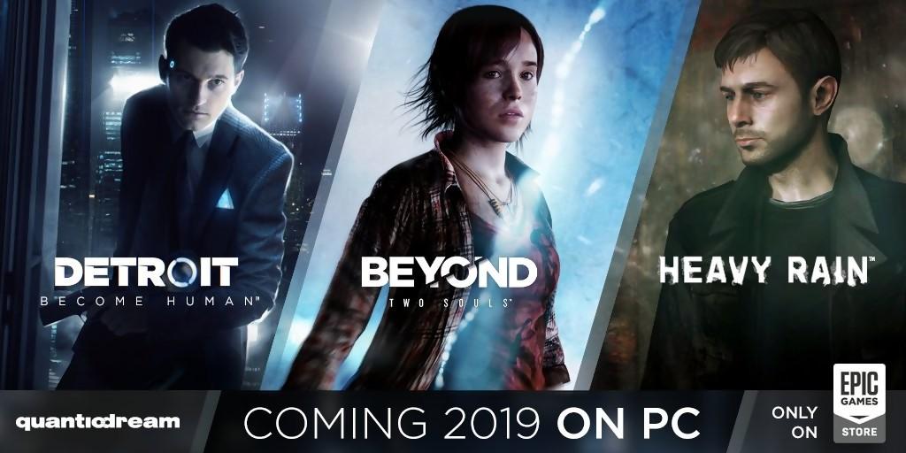 Quantic Dream : les détails sur la version PC de Detroit. Beyond et Heavy Rain