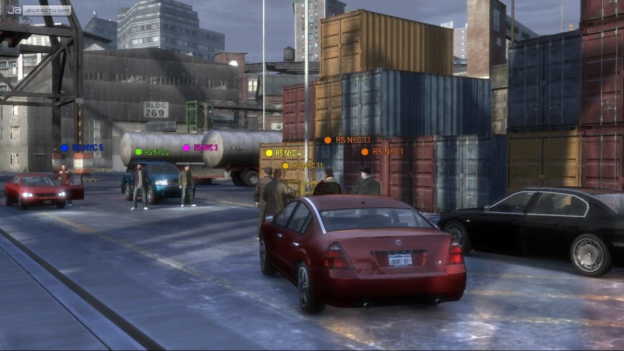 Test Grand Theft Auto IV