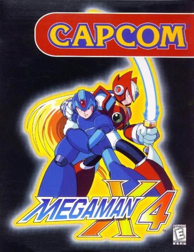 Jaquettes Mega Man X4