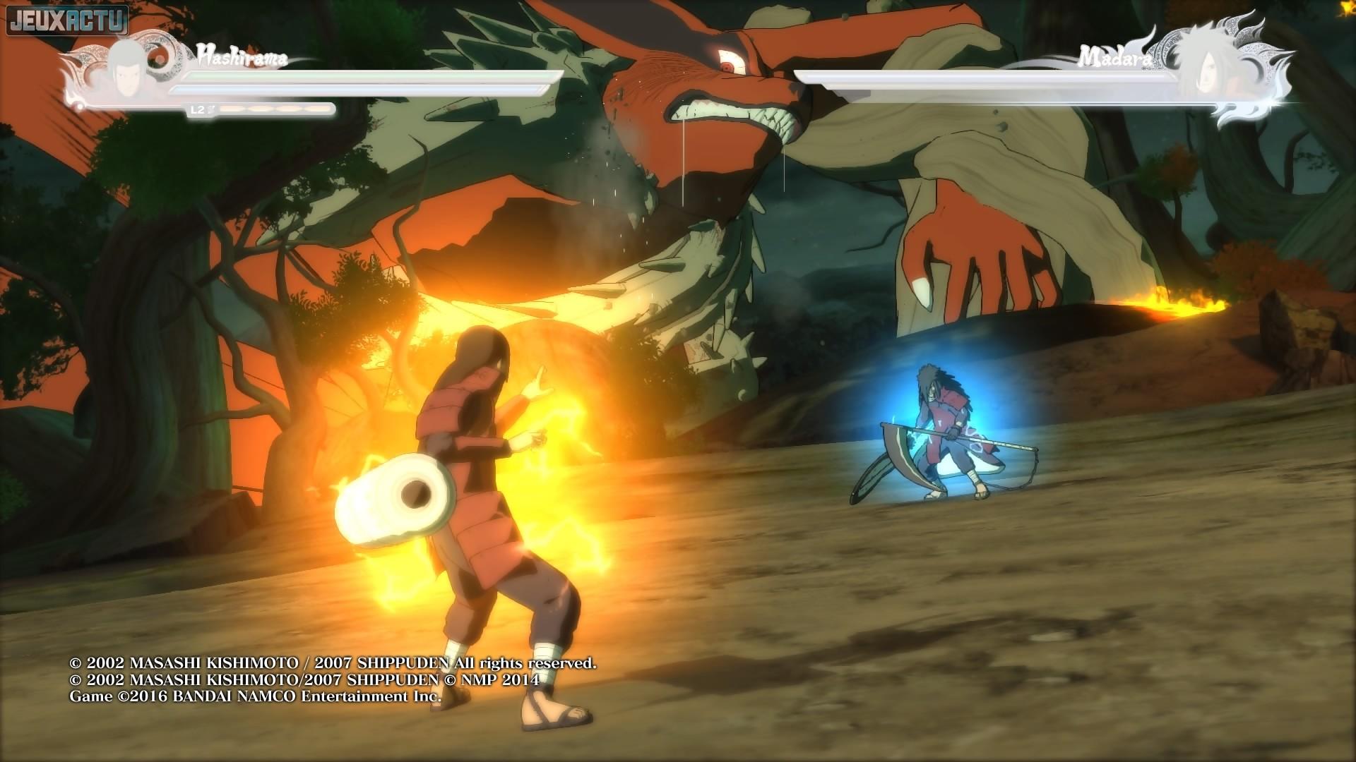 Test Naruto Shippuden Ultimate Ninja Storm 4 Sur PS4 Et