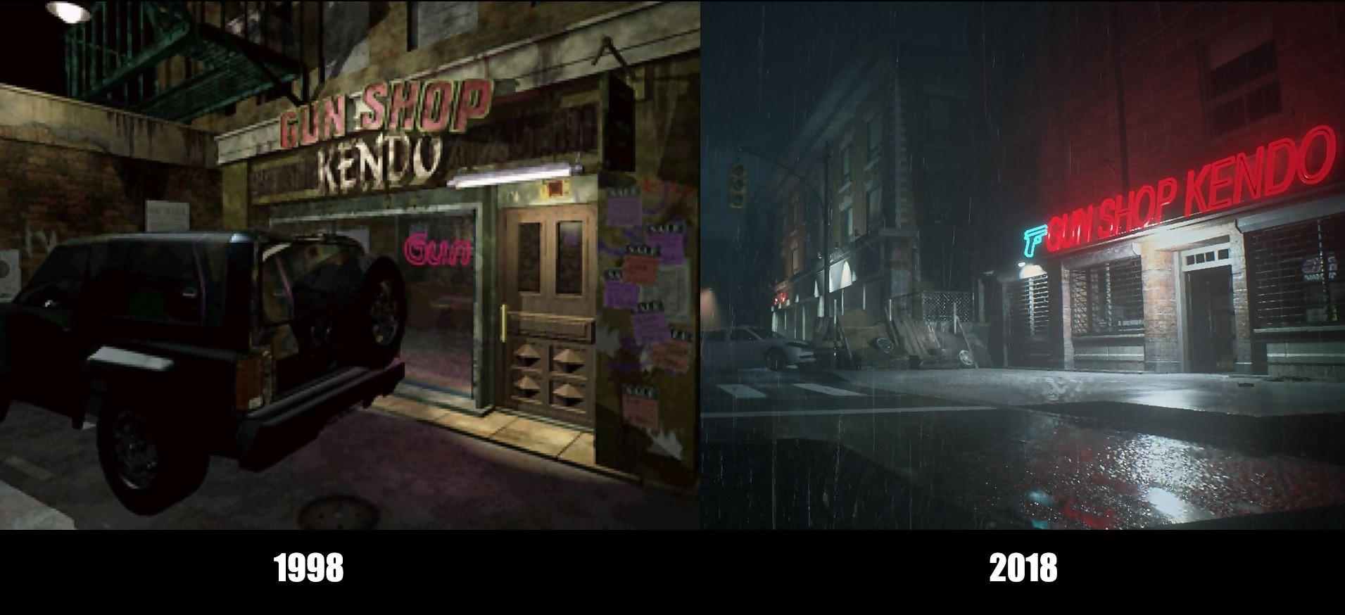 Resident Evil 2 Des Comparatifs Ahurissants Ada Wong A