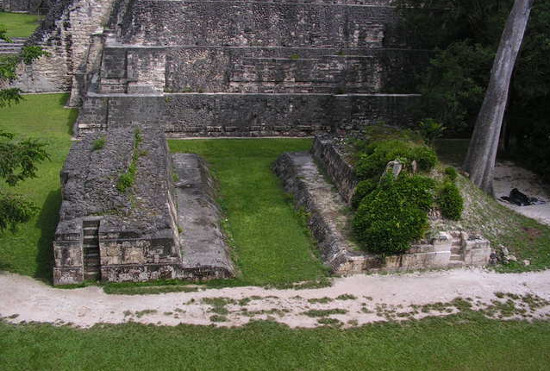 Playing football is a favorite sport of pre-Colombus people.