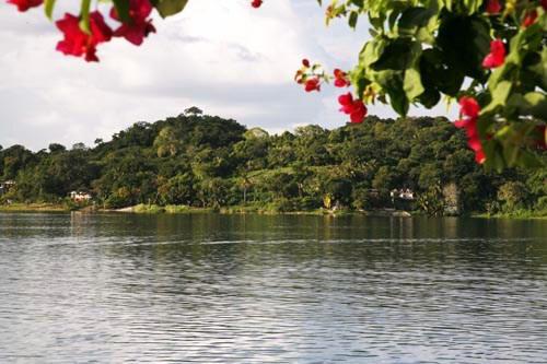 The island city of Tayasal was an independent Maya kingdom until 1697.