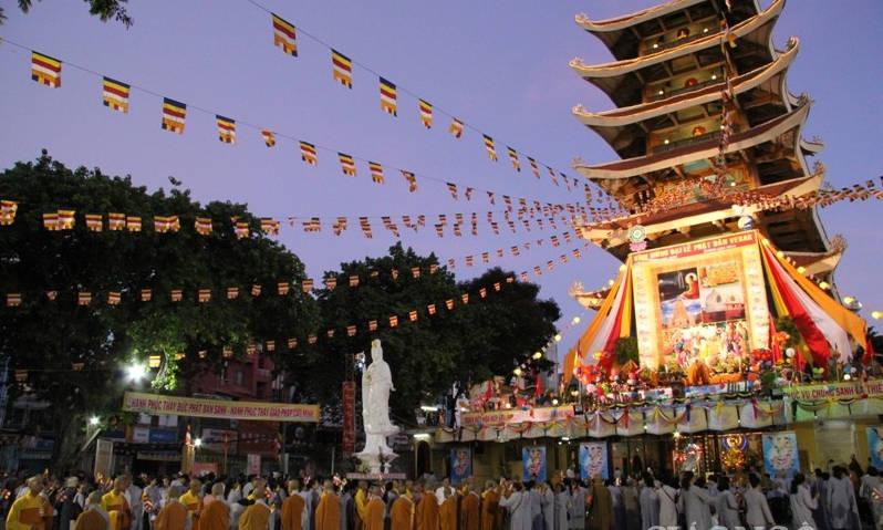 Nay tuy chỉ với ngôi tháp 7 tầng và 3.712 thước vuông nhưng vẫn là sự tồn tại của Việt Nam Quốc Tự và cũng nói lên niềm hoan hỉ cho những người con Phật, những tấm lòng cao cả biết hiến dâng đời mình cho đất nước dân tộc và đạo pháp.