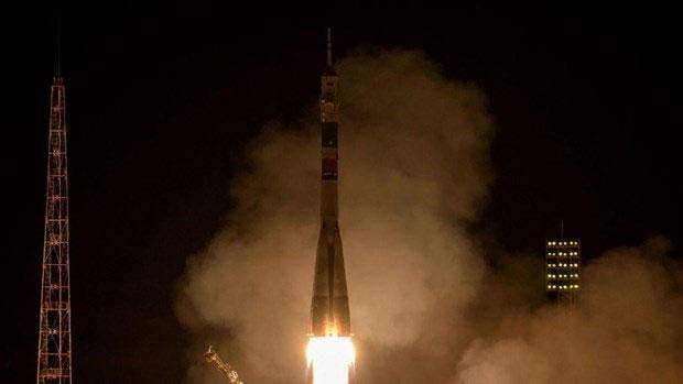 Tàu vũ trụ Soyuz MS-12.