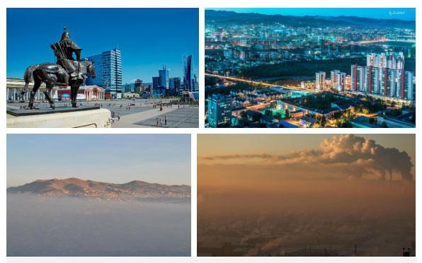 Ulaanbaatar tuyệt đẹp nhưng đang chìm trong màn sương bụi ô nhiễm