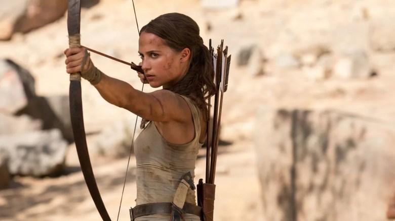 Tomb Raider's Alicia Vikander talks about the sequel