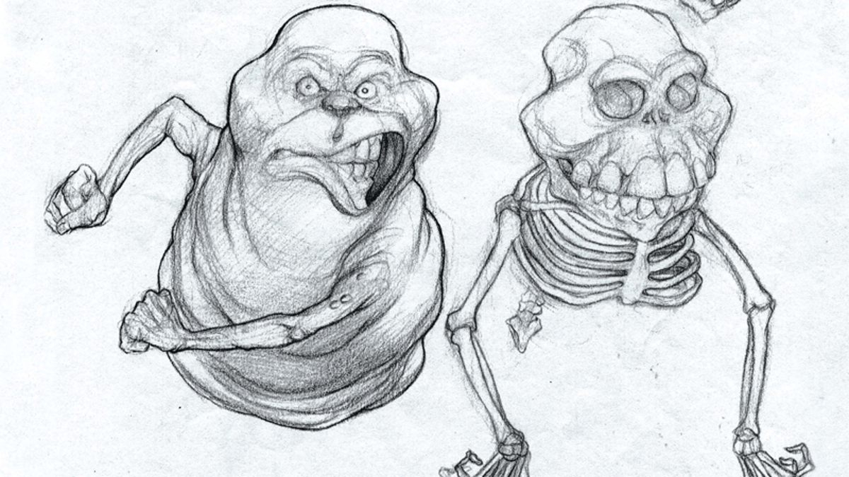 This Never-Before-Seen Ghostbusters Concept Art Is