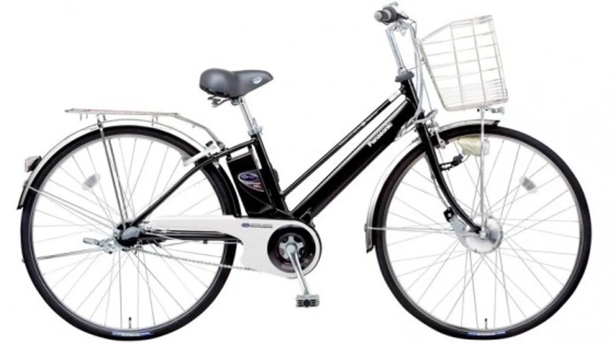 Panasonic Makes Electric Bike With Regenerative Braking