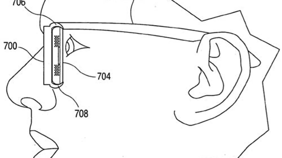 Apple Wants Us to Wear 3D iPod Glasses