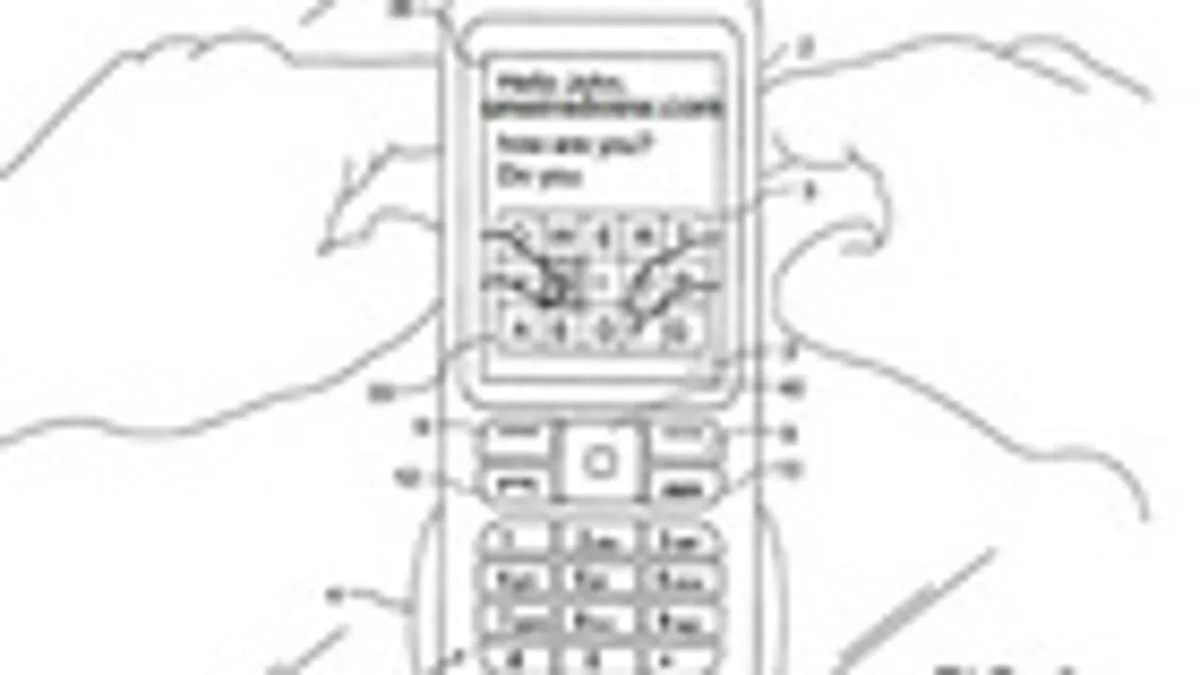 Nokia Patent Describes Cellphone With Virtual Keyboard