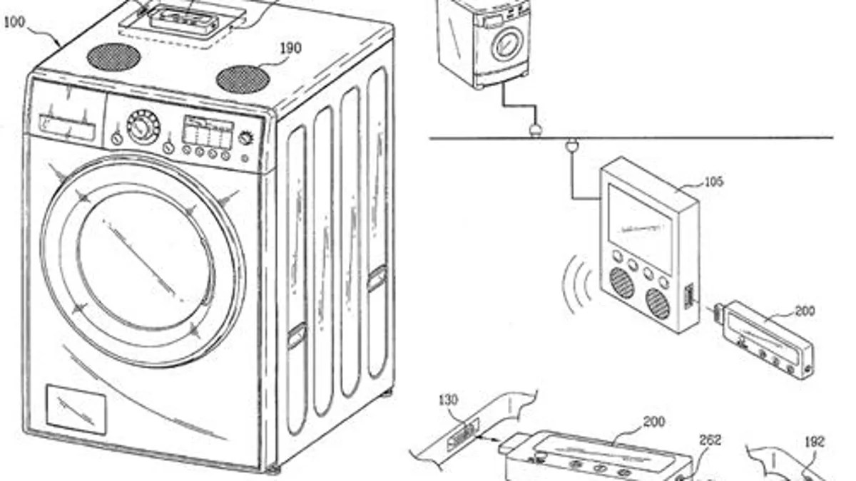 LG's Washing Machine Has an iPod Dock