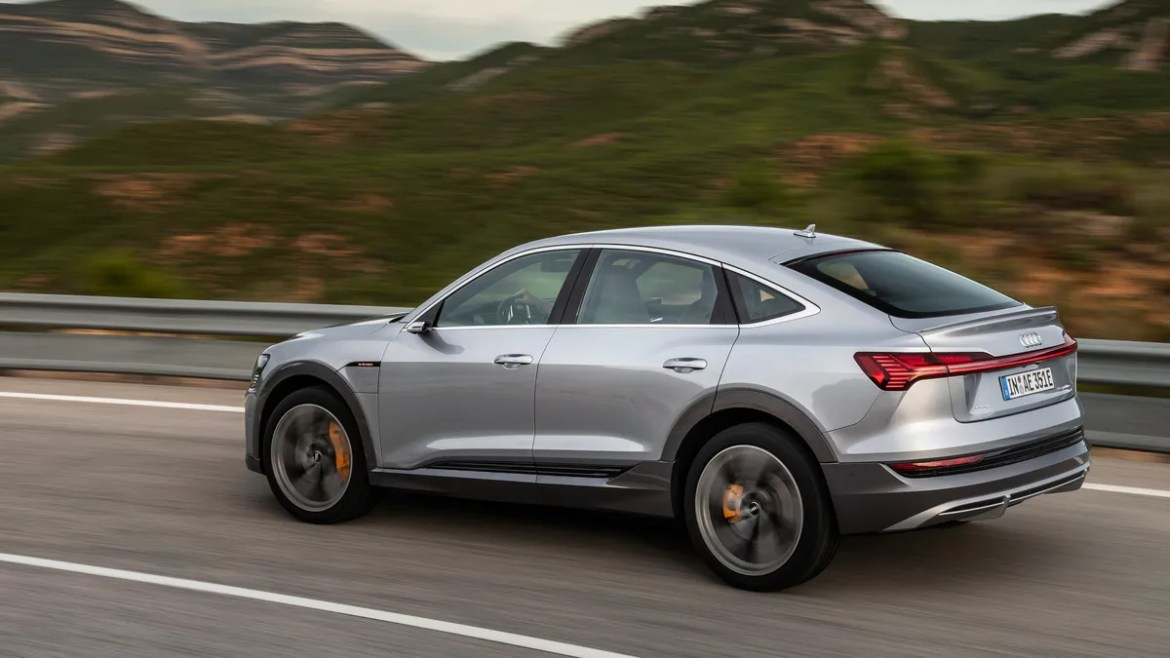 The 2020 Audi E Tron Sportback Trims Cargo Space For Style