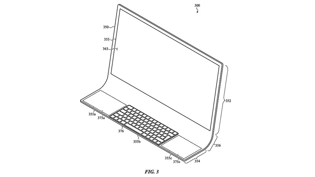 Patent Hints Apple May Be Cooking Up a Curvy Glass iMac