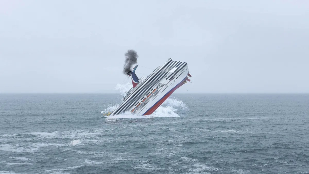 Carnival Sinks Cruise Ship Rather Than Letting It Fall Into ...