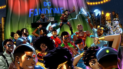 First Look at DC FanDome Blerd & Boujee Afterparty Invite