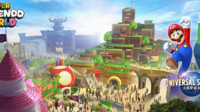 Universal Studios Japan Super Nintendo World Opens Spring 2021