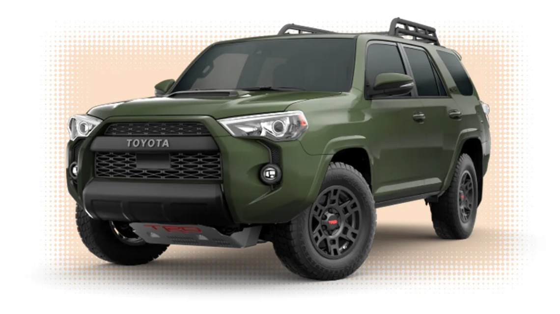 army green' is the 2020 toyota 4runner's best new feature