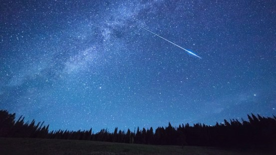 How to see Ursida's meteor shower at its peak tonight