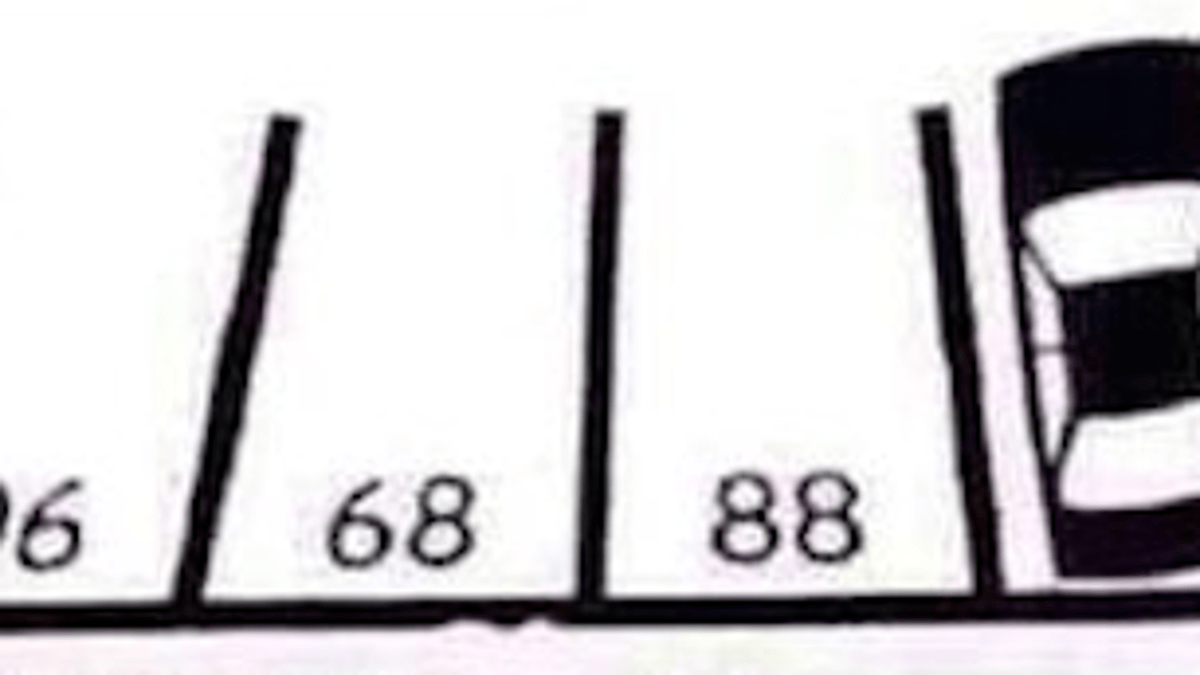 Can You Figure Out This Parking Lot's Numbering System?