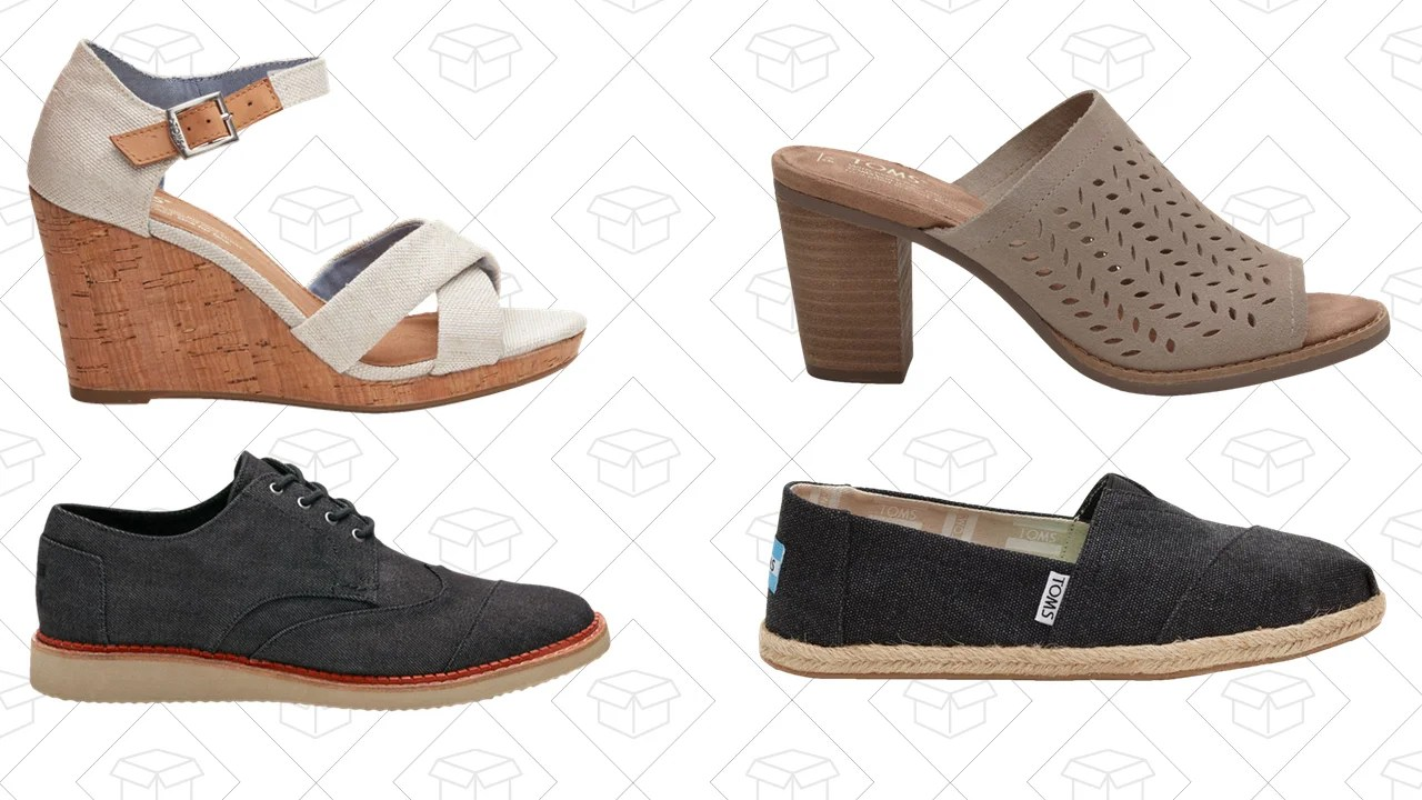 Step Into Fall With an Extra 25% Off TOMS Shoes and ...
