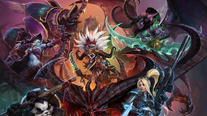 Blizzard Reveals First Key Artwork For Heroes Of The Storm Kotaku Australia