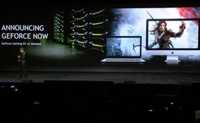 Nvidia S Geforce Now Will Let You Stream Pc Games Kotaku