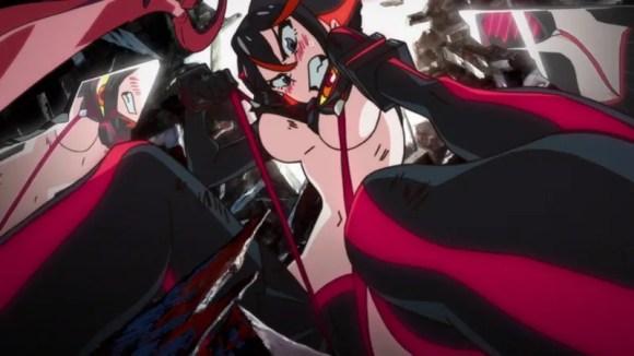kill la kill ryuko matoi fanservice