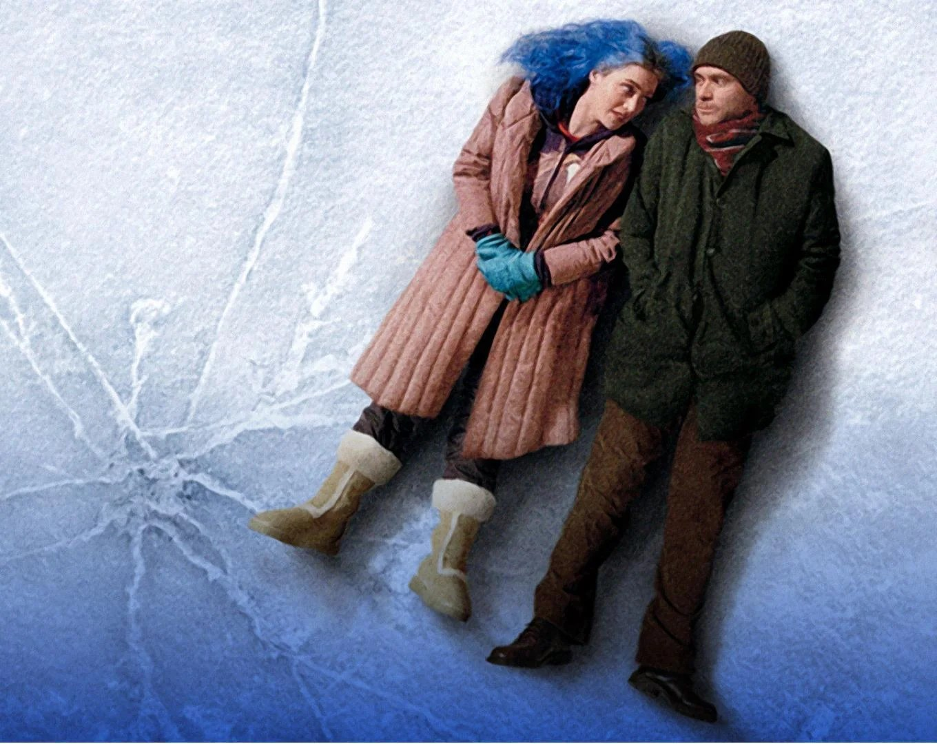 """Promotional still from """"Eternal Sunshine of the Spotless Mind"""""""