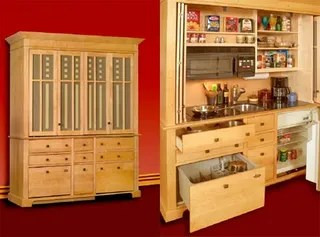 kitchen armoire porcelain sinks is everything you need minus cooking lessons while the average american has expanded to be a stainless steel and granite clad football stadium refreshingly simplistic