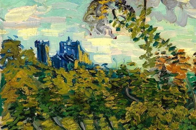 You know that newfound Van Gogh painting has the TARDIS in it, right?