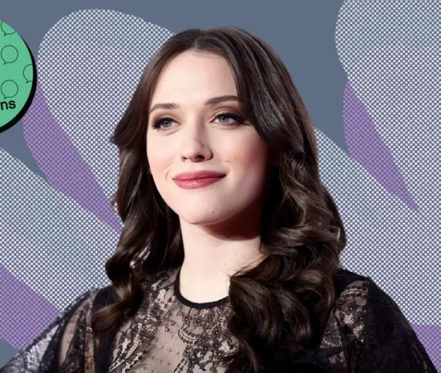 Illustration For Article Titled Kat Dennings Grew Up In A Haunted House And Bought Her First