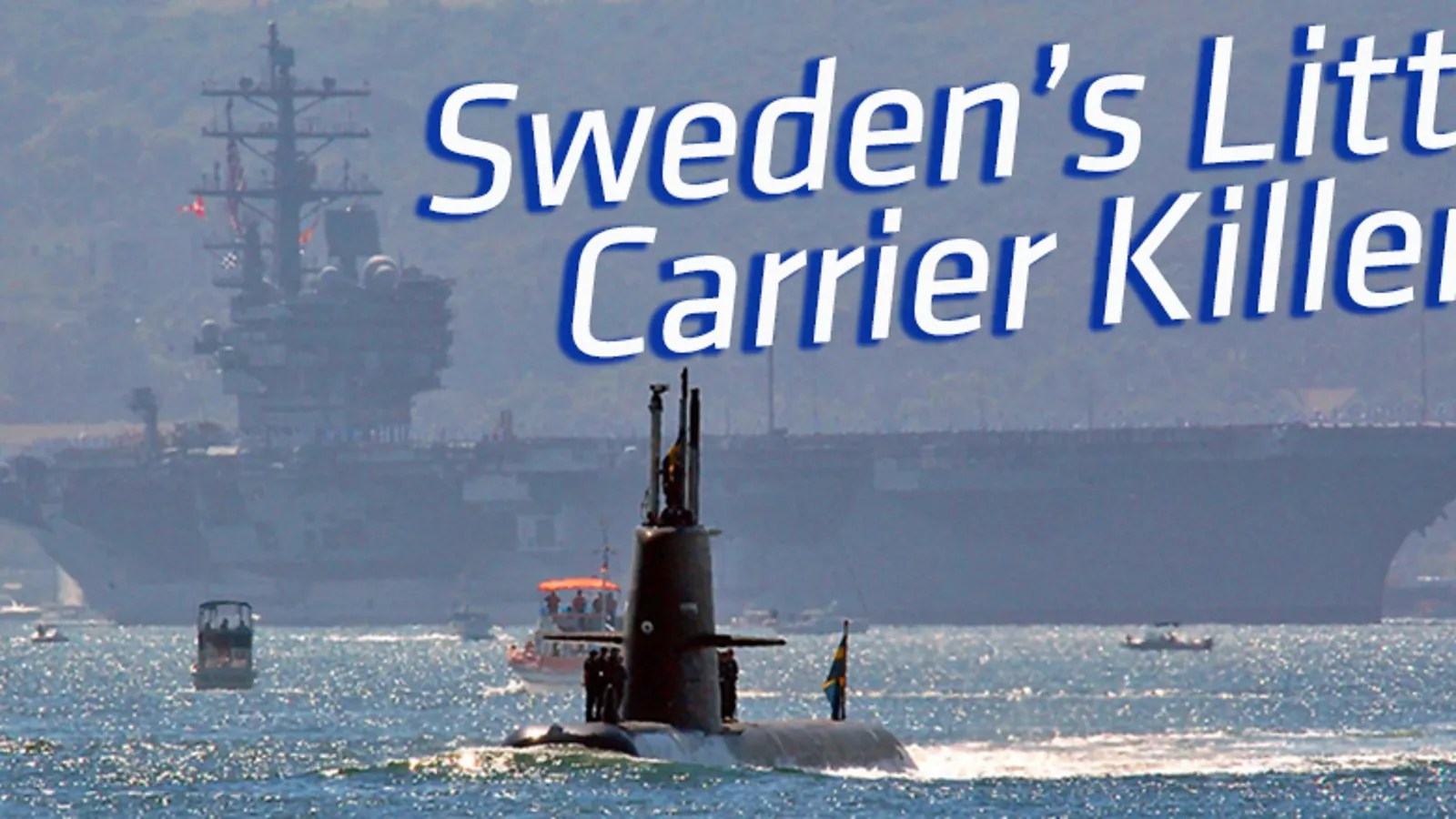 sweden has a sub that's so deadly the us navy hired it to
