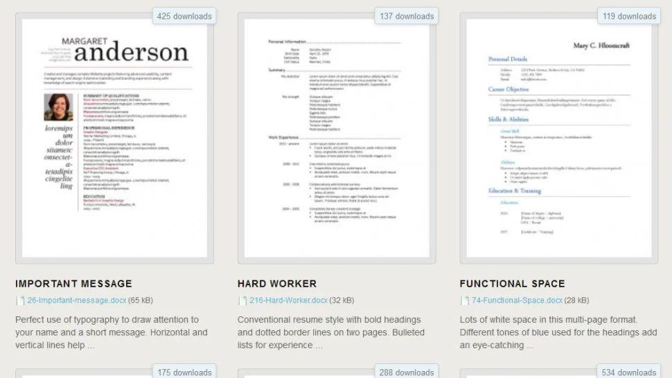 online resume upload