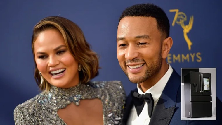 Illustration for article titled Relationship Goals: John Legend And Chrissy Teigen Have Both Had Their Consciousness Uploaded Into The Same Smart Fridge