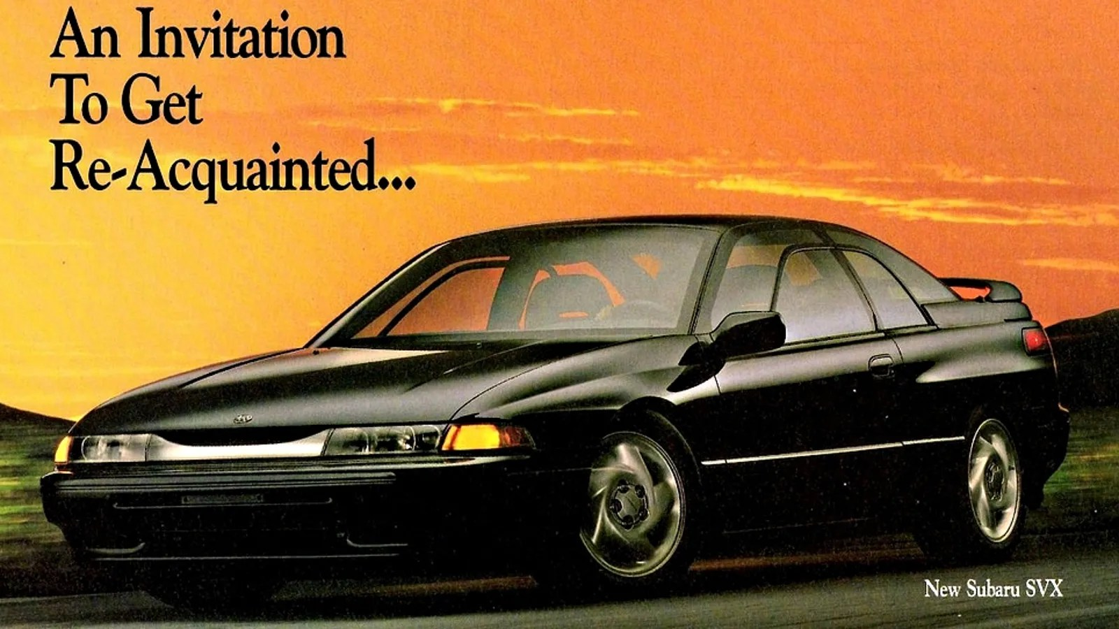 How To Make The Subaru Svx The Car It Deserves To Be