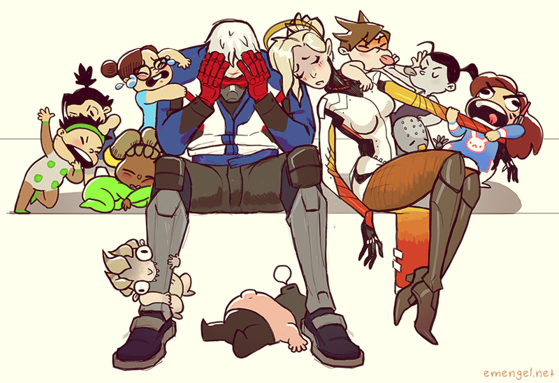 Overwatch Fans Have Turned Soldier 76 Into A Dad