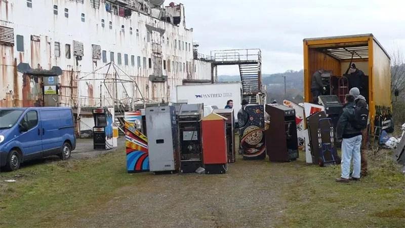 Raid On Abandoned Ship Saves Over 50 Classic Arcade Games